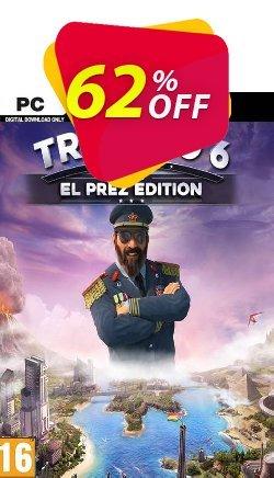 Tropico 6 El Prez Edition PC - AUS/NZ  Coupon discount Tropico 6 El Prez Edition PC (AUS/NZ) Deal - Tropico 6 El Prez Edition PC (AUS/NZ) Exclusive offer for iVoicesoft