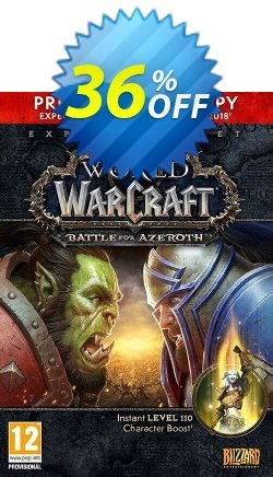 World of Warcraft - WoW Battle for Azeroth - PC - EU  Coupon discount World of Warcraft (WoW) Battle for Azeroth - PC (EU) Deal - World of Warcraft (WoW) Battle for Azeroth - PC (EU) Exclusive offer for iVoicesoft