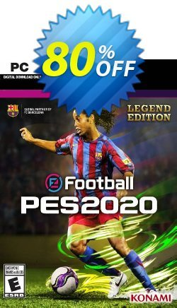 eFootball PES 2020 Legend Edition PC Coupon discount eFootball PES 2020 Legend Edition PC Deal. Promotion: eFootball PES 2020 Legend Edition PC Exclusive offer for iVoicesoft