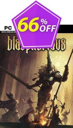 Blasphemous PC Coupon discount Blasphemous PC Deal. Promotion: Blasphemous PC Exclusive offer for iVoicesoft
