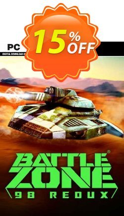 Battlezone 98 Redux PC Coupon, discount Battlezone 98 Redux PC Deal. Promotion: Battlezone 98 Redux PC Exclusive offer for iVoicesoft