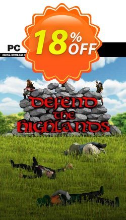 Defend The Highlands PC Coupon discount Defend The Highlands PC Deal - Defend The Highlands PC Exclusive offer for iVoicesoft