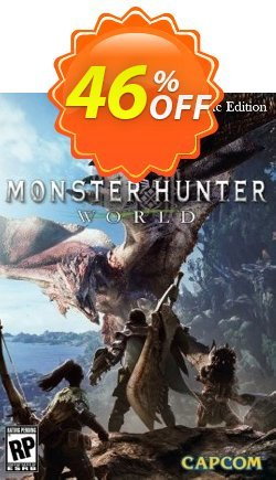 Monster Hunter World Deluxe Edition PC Coupon, discount Monster Hunter World Deluxe Edition PC Deal. Promotion: Monster Hunter World Deluxe Edition PC Exclusive offer for iVoicesoft