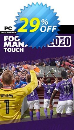 Football Manager 2020 Touch PC - EU  Coupon discount Football Manager 2021 Touch PC (EU) Deal - Football Manager 2021 Touch PC (EU) Exclusive offer for iVoicesoft