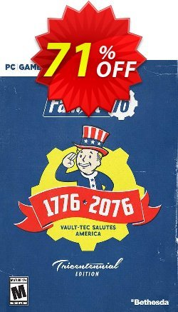 Fallout 76 Tricentennial Edition PC - AUS/NZ  Coupon discount Fallout 76 Tricentennial Edition PC (AUS/NZ) Deal - Fallout 76 Tricentennial Edition PC (AUS/NZ) Exclusive offer for iVoicesoft