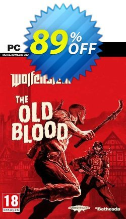Wolfenstein: The Old Blood PC Coupon, discount Wolfenstein: The Old Blood PC Deal. Promotion: Wolfenstein: The Old Blood PC Exclusive offer for iVoicesoft