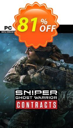 Sniper Ghost Warrior Contracts PC Coupon discount Sniper Ghost Warrior Contracts PC Deal - Sniper Ghost Warrior Contracts PC Exclusive offer for iVoicesoft