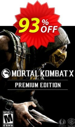 Mortal Kombat X Premium Edition PC Coupon, discount Mortal Kombat X Premium Edition PC Deal. Promotion: Mortal Kombat X Premium Edition PC Exclusive offer for iVoicesoft