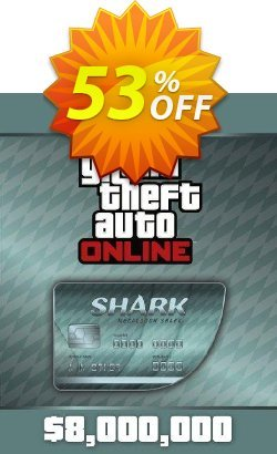 Grand Theft Auto Online - GTA V 5 : Megalodon Shark Cash Card PC Coupon discount Grand Theft Auto Online (GTA V 5): Megalodon Shark Cash Card PC Deal - Grand Theft Auto Online (GTA V 5): Megalodon Shark Cash Card PC Exclusive offer for iVoicesoft