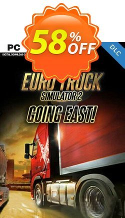 Euro Truck Simulator 2 - Going East DLC PC Coupon discount Euro Truck Simulator 2 - Going East DLC PC Deal - Euro Truck Simulator 2 - Going East DLC PC Exclusive offer for iVoicesoft