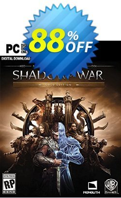 Middle-earth Shadow of War Gold Edition PC Coupon, discount Middle-earth Shadow of War Gold Edition PC Deal. Promotion: Middle-earth Shadow of War Gold Edition PC Exclusive offer for iVoicesoft