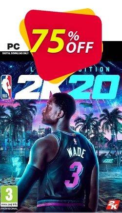 NBA 2K20 Legend Edition PC - EU  Coupon discount NBA 2K20 Legend Edition PC (EU) Deal - NBA 2K20 Legend Edition PC (EU) Exclusive offer for iVoicesoft