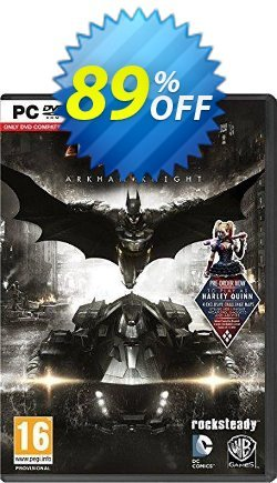 Batman: Arkham Knight PC Coupon, discount Batman: Arkham Knight PC Deal. Promotion: Batman: Arkham Knight PC Exclusive offer for iVoicesoft