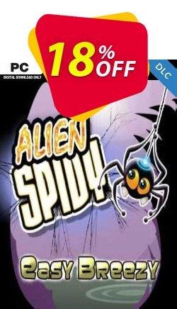 Alien Spidy Easy Breezy DLC PC Coupon discount Alien Spidy Easy Breezy DLC PC Deal
