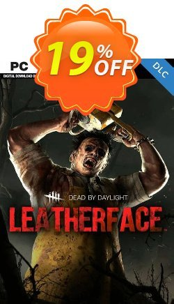 Dead by Daylight PC - Leatherface DLC Coupon discount Dead by Daylight PC - Leatherface DLC Deal - Dead by Daylight PC - Leatherface DLC Exclusive offer for iVoicesoft
