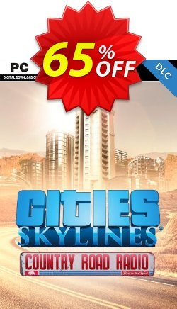 Cities Skylines - Country Road Radio DLC Coupon discount Cities Skylines - Country Road Radio DLC Deal - Cities Skylines - Country Road Radio DLC Exclusive offer for iVoicesoft