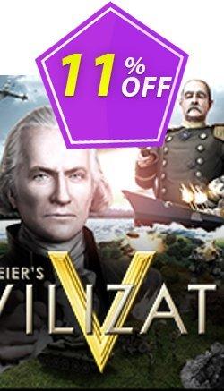 Sid Meier's Civilization V PC Coupon discount Sid Meier's Civilization V PC Deal. Promotion: Sid Meier's Civilization V PC Exclusive offer for iVoicesoft