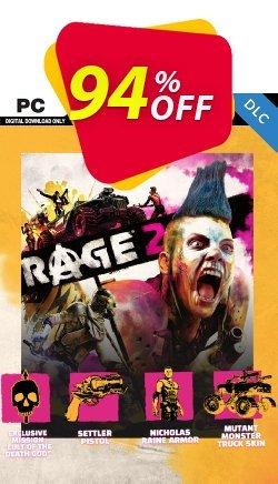 Rage 2 PC DLC - EMEA  Coupon discount Rage 2 PC DLC (EMEA) Deal - Rage 2 PC DLC (EMEA) Exclusive offer for iVoicesoft