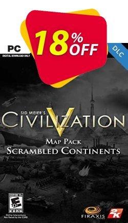 Civilization V Scrambled Continents Map Pack PC Coupon discount Civilization V Scrambled Continents Map Pack PC Deal. Promotion: Civilization V Scrambled Continents Map Pack PC Exclusive offer for iVoicesoft