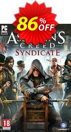 Assassin's Creed Syndicate PC Coupon, discount Assassin's Creed Syndicate PC Deal. Promotion: Assassin's Creed Syndicate PC Exclusive offer for iVoicesoft
