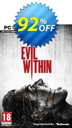 The Evil Within PC Coupon, discount The Evil Within PC Deal. Promotion: The Evil Within PC Exclusive offer for iVoicesoft