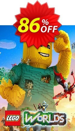 Lego Worlds PC + DLC Coupon discount Lego Worlds PC + DLC Deal. Promotion: Lego Worlds PC + DLC Exclusive offer for iVoicesoft