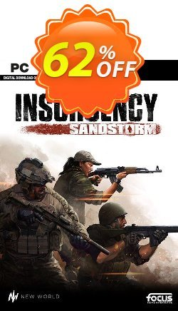 Insurgency: Sandstorm PC Coupon discount Insurgency: Sandstorm PC Deal - Insurgency: Sandstorm PC Exclusive offer for iVoicesoft