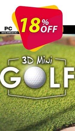 3D MiniGolf PC Coupon, discount 3D MiniGolf PC Deal. Promotion: 3D MiniGolf PC Exclusive offer for iVoicesoft