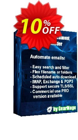 Mail Attachment Downloader PRO Client - 3 License Pack  Coupon discount Mail Attachment Downloader PRO Client (3 License Pack) Stirring offer code 2021. Promotion: Stirring offer code of Mail Attachment Downloader PRO Client (3 License Pack) 2021