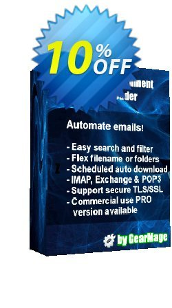 Mail Attachment Downloader PRO Client - 6 License Pack  Coupon discount Mail Attachment Downloader PRO Client (6 License Pack) Formidable promo code 2021 - Formidable promo code of Mail Attachment Downloader PRO Client (6 License Pack) 2021