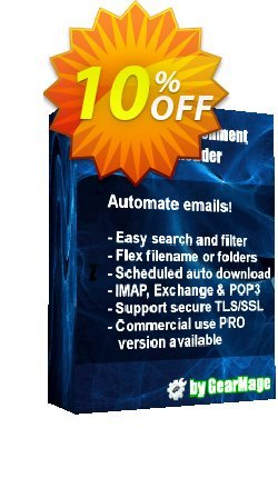 Mail Attachment Downloader PRO Server with SDK - 10 License Pack  Coupon discount Mail Attachment Downloader PRO Server with SDK (10 License Pack) Fearsome sales code 2021 - Fearsome sales code of Mail Attachment Downloader PRO Server with SDK (10 License Pack) 2021