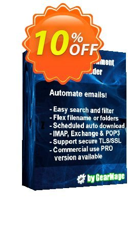 Mail Attachment Downloader PRO Client One Year Extension Coupon discount Mail Attachment Downloader PRO Client One Year Extension Fearsome offer code 2021 - Fearsome offer code of Mail Attachment Downloader PRO Client One Year Extension 2021