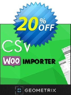 CSV WooImporter - Add-on  Coupon discount CSV WooImporter. Add-on for WooImporter. Excellent offer code 2020 - Excellent offer code of CSV WooImporter. Add-on for WooImporter. 2020