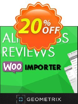 Aliexpress Reviews WooImporter - Add-on  Coupon discount Aliexpress Reviews WooImporter. Add-on for WooImporter. Wondrous discount code 2020. Promotion: Wondrous discount code of Aliexpress Reviews WooImporter. Add-on for WooImporter. 2020