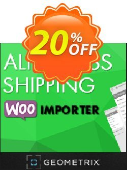 Aliexpress Shipping WooImporter - Add-on  Coupon, discount Aliexpress Shipping WooImporter. Add-on for WooImporter. Hottest offer code 2020. Promotion: Hottest offer code of Aliexpress Shipping WooImporter. Add-on for WooImporter. 2020
