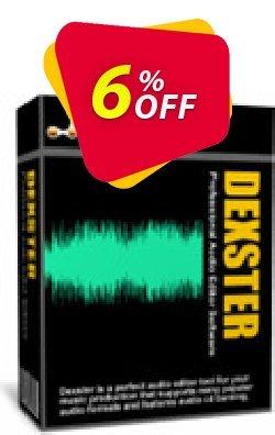 Dexster Audio Editor Coupon, discount Dexster Amazing sales code 2021. Promotion: Amazing sales code of Dexster 2021