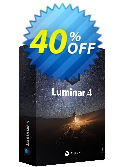 Luminar 4 Coupon, discount 12% OFF Luminar Jan 2021. Promotion: Imposing discount code of Luminar, tested in January 2021