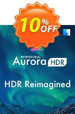 Aurora HDR Coupon, discount 10% OFF Aurora HDR Jan 2021. Promotion: Imposing discount code of Aurora HDR, tested in January 2021
