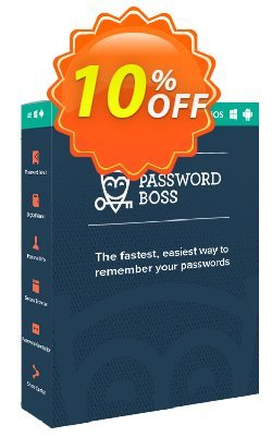Password Boss Family - 5 Users  Coupon, discount Password Boss Family Annual Subscription - 5 Users Impressive promotions code 2020. Promotion: Impressive promotions code of Password Boss Family Annual Subscription - 5 Users 2020