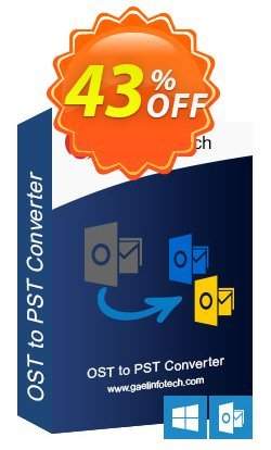 Gael Converter for OST Coupon, discount Coupon code Gael Converter for OST - Home User License. Promotion: Gael Converter for OST - Home User License offer from BitRecover