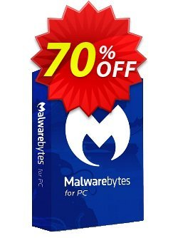 Malwarebytes Premium - 2 years  Coupon, discount 25% OFF Malwarebytes Premium (2 years), verified. Promotion: Stunning discount code of Malwarebytes Premium (2 years), tested & approved