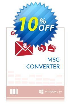 Mailsware MSG Converter Coupon, discount Coupon code Mailsware MSG Converter - Standard License. Promotion: Mailsware MSG Converter - Standard License offer from ZOOK Software