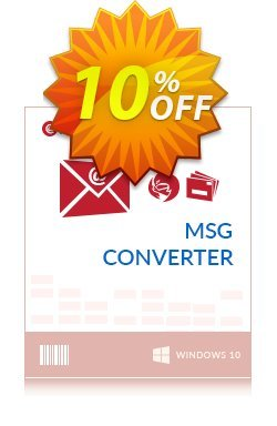 Mailsware MSG Converter - Migration License Coupon, discount Coupon code Mailsware MSG Converter - Migration License. Promotion: Mailsware MSG Converter - Migration License offer from ZOOK Software