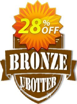 UBotter Bronze Licensing Coupon, discount UBotter Bronze Licensing Wonderful sales code 2021. Promotion: Wonderful sales code of UBotter Bronze Licensing 2021