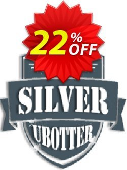 UBotter Silver Licensing Coupon, discount UBotter Silver Licensing Awful promo code 2021. Promotion: Awful promo code of UBotter Silver Licensing 2021