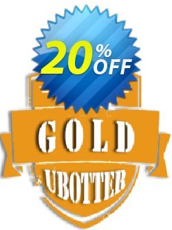 UBotter Gold Licensing Coupon, discount UBotter Gold Licensing Awful discounts code 2021. Promotion: Awful discounts code of UBotter Gold Licensing 2021