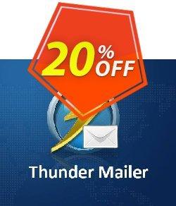 Thunder Mailer Coupon, discount Thunder Mailer Dreaded discount code 2020. Promotion: Dreaded discount code of Thunder Mailer 2020
