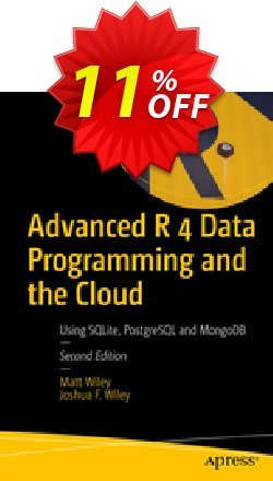 Advanced R 4 Data Programming and the Cloud - Wiley  Coupon, discount Advanced R 4 Data Programming and the Cloud (Wiley) Deal. Promotion: Advanced R 4 Data Programming and the Cloud (Wiley) Exclusive Easter Sale offer for iVoicesoft