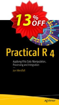 Practical R 4 - Westfall  Coupon, discount Practical R 4 (Westfall) Deal. Promotion: Practical R 4 (Westfall) Exclusive Easter Sale offer for iVoicesoft