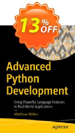 Advanced Python Development - Wilkes  Coupon, discount Advanced Python Development (Wilkes) Deal. Promotion: Advanced Python Development (Wilkes) Exclusive Easter Sale offer for iVoicesoft